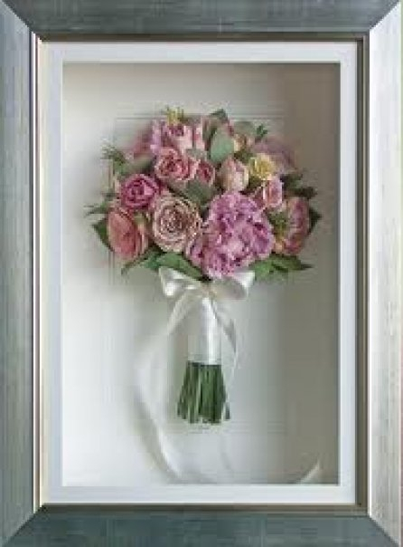 Wedding Forum 3d Box Frame Preserved Bouquets