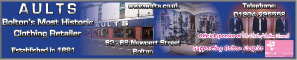 Aults Menswear - Men's Formal Wear / Hire - Bolton - Lancashire