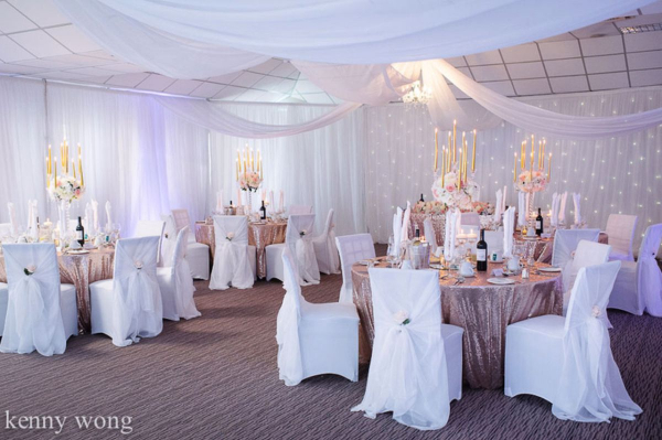 Beau Blush Events - Venue Decoration - Hook - Hampshire