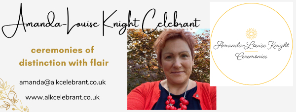 Amanda-Louise Knight Celebrant Ceremonies - Celebrant - Dunster, Near Minehead - Somerset