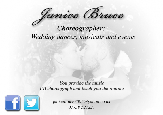 Janice Bruce Choreography For First Wedding Dances - Entertainment - Edinburgh - Midlothian