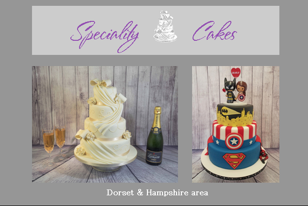 Speciality Cakes - Cakes & Favours - BOURNEMOUTH - Dorset