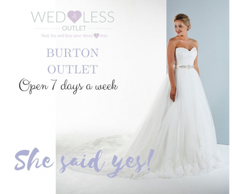 WED4LESS - Wedding Dress / Fashion - Burton-on-trent - Staffordshire