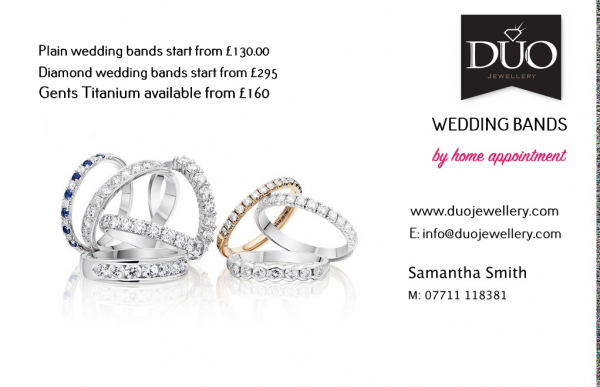Duo Jewellery - Wedding Rings - Albrighton Wolverhampton - Shropshire