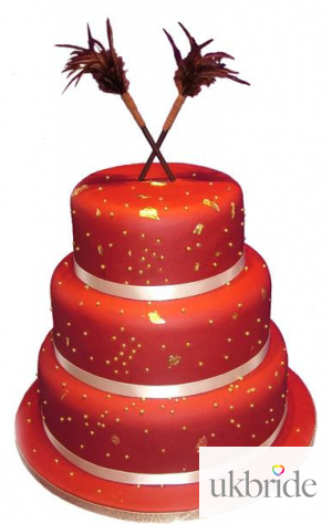 Wedding Cakes Red Sussex Cake Creations 57755 P1 Of 1