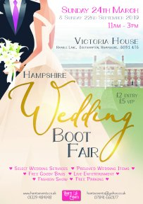 Thumbnail image for Hampshire Wedding Boot Fair