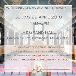 Wedding show & open day - Bedford