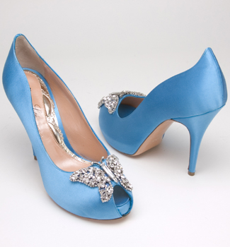 Beautiful ... Blue And Bold Shoes By Aruna Seth