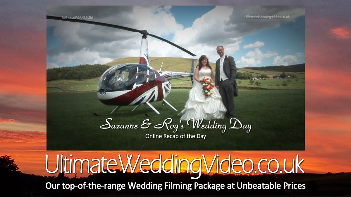 Wedding Filming available at reduced prices