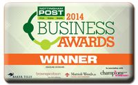 2014 Business Awards Winner