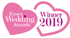 Winner of Wedding Venue of the Year- Heritage 2019 at the Essex Wedding Awards
