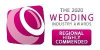EAST OF ENGLAND BEST BRIDAL RETAILER - HIGHLY COMMENDED