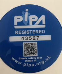 PIPA safety registered - both castles passed the safety tests