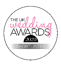 The UK Wedding Awards Regional Finalist for 2020