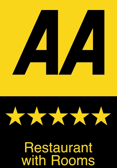 AA 5 star restaurant and rooms recognition