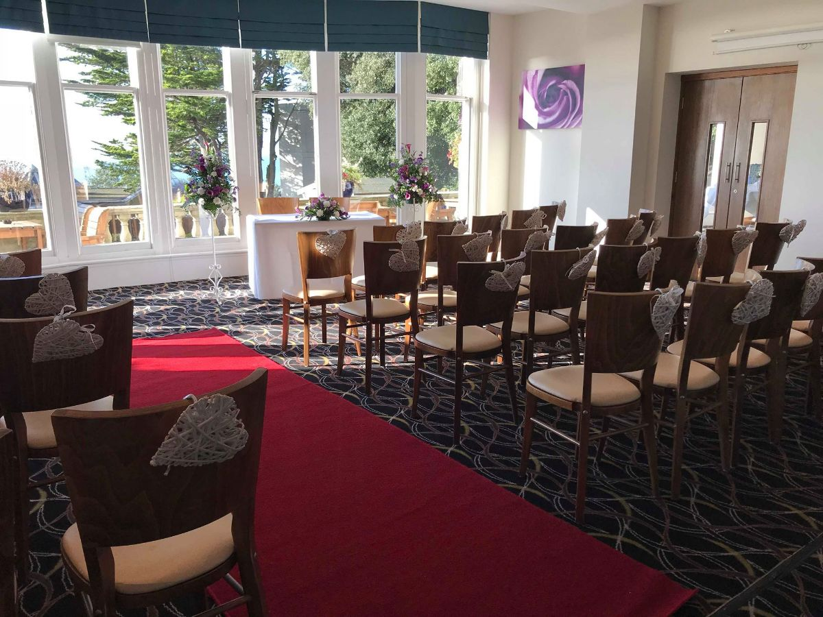 Ceremony in the Bay Suite