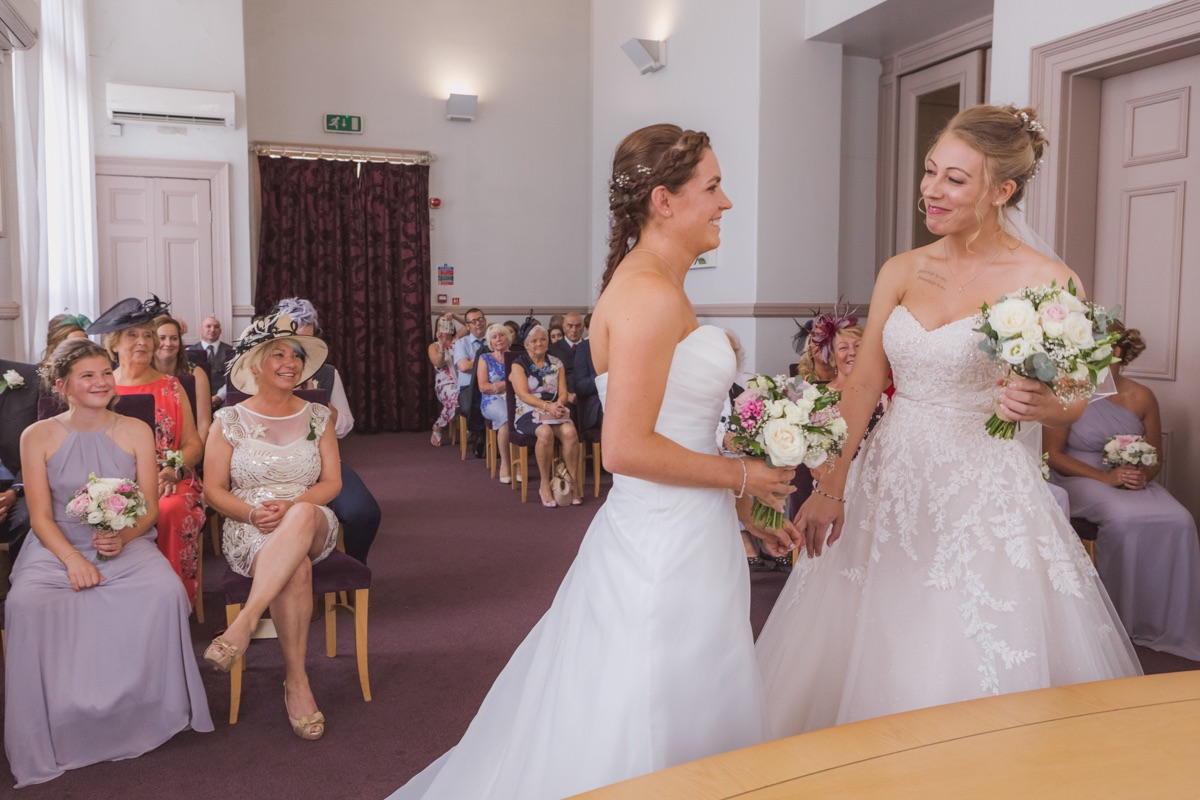 Real Wedding Image for Bex & Emma