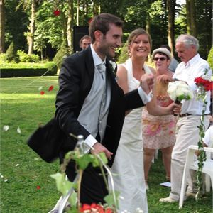Real Wedding Image for Delphine & Nicolas