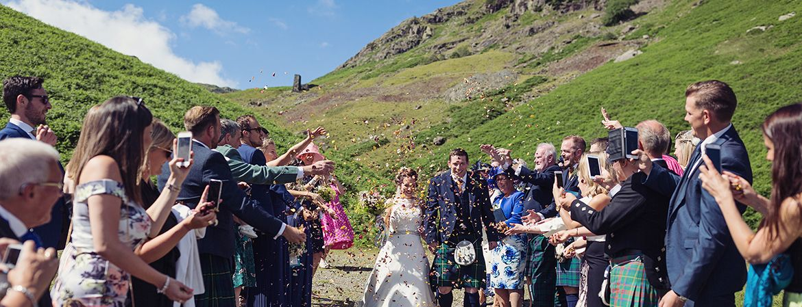 Real Wedding Image for Katie & Callum
