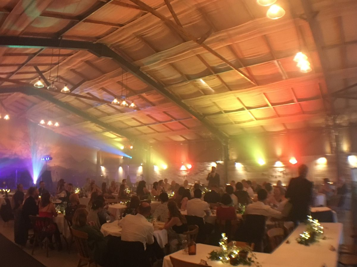 Speeches in the barn